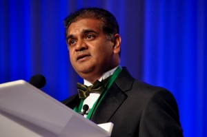 Dr. Vip Patel, a recognized leader in the field of robotic prostate- cancer treatment.