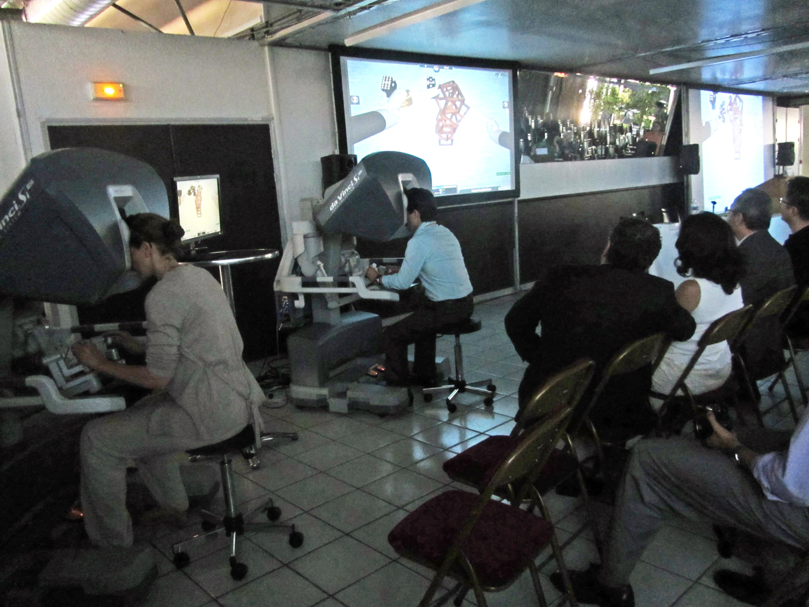 Robotic Surgery Simulation Competition